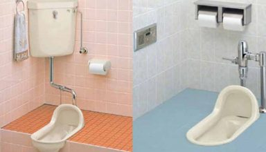 types of toilet systems