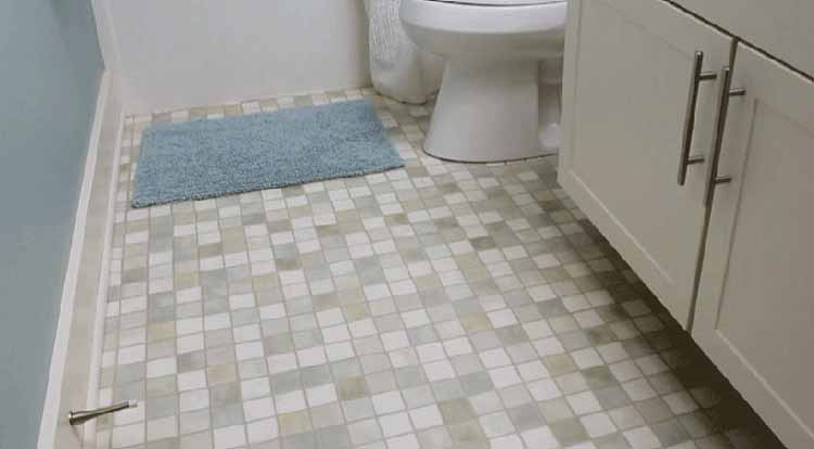Clean Bathroom Tile Floors