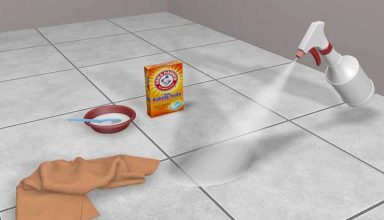 Easy Way to Clean Bathroom Tile Floors