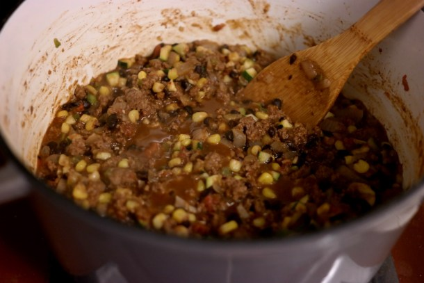 Mexican Ground Beef and Vegetables