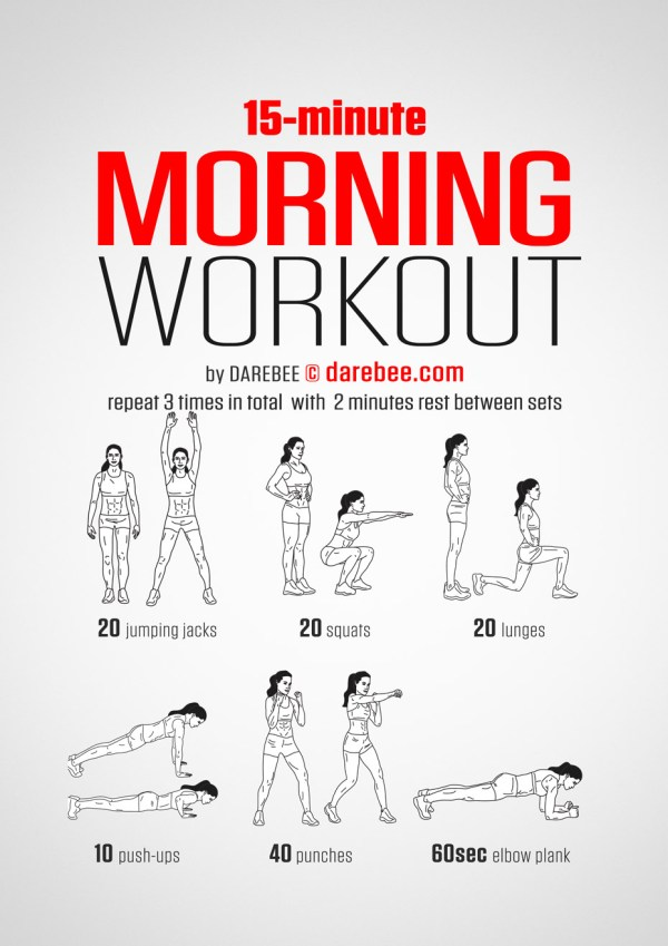 15 Minute Morning Workout