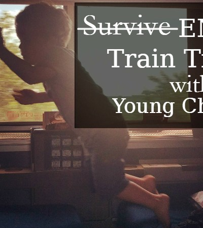 train travel with young children