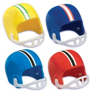 Football Helmet Cupcake Topper