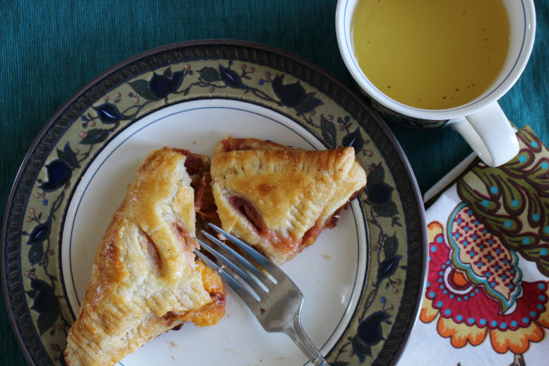 Organic Peach Turnovers Recipe