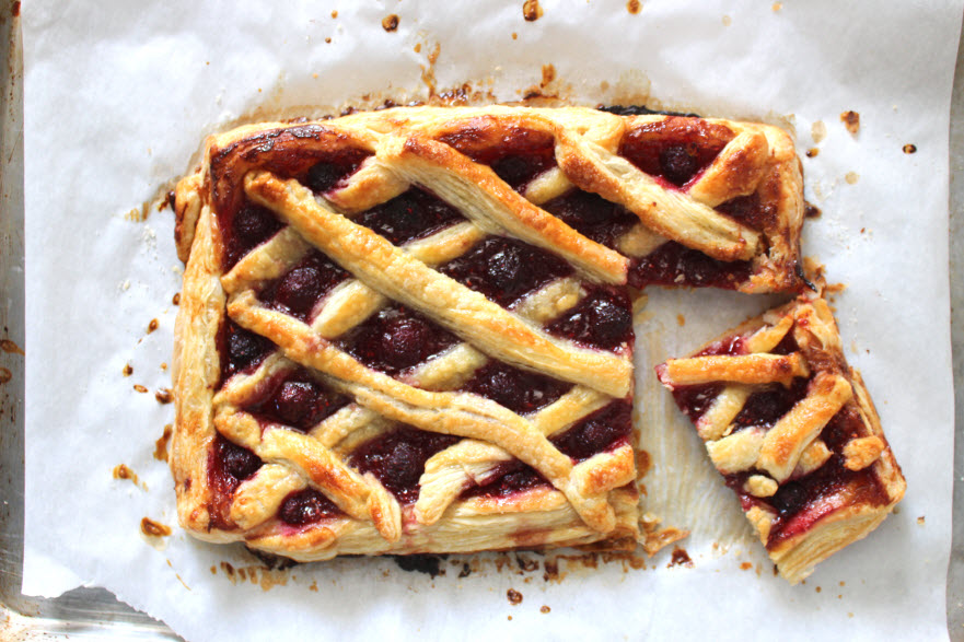 Raspberry Tart Puff Pastry Recipe