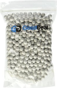 White Pearl Sixlets Candy
