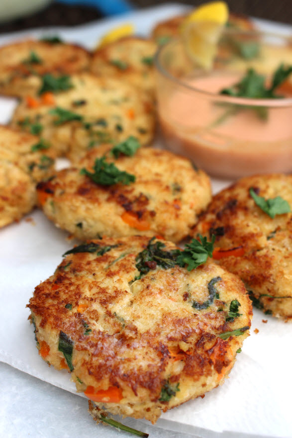 Crab Cakes with lump crab meat