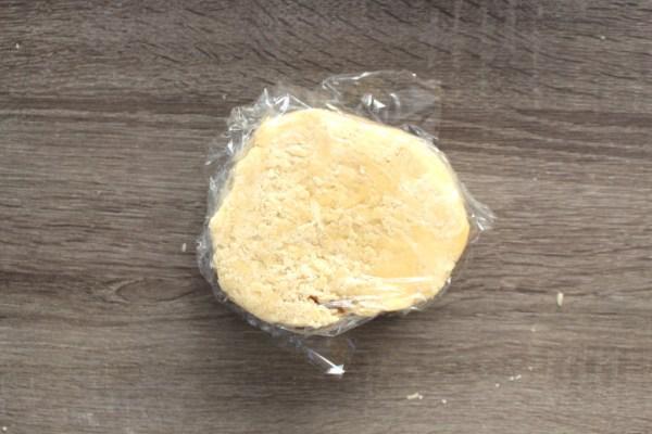 Wrap Pie Dough in Plastic Wrap