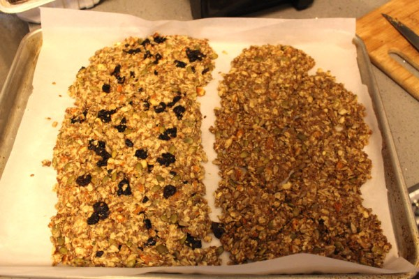 Healthy Energy Cracker Dough