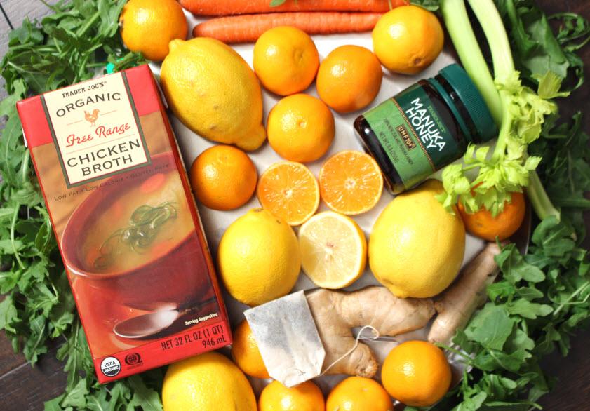 Sick Day Essentials Foods