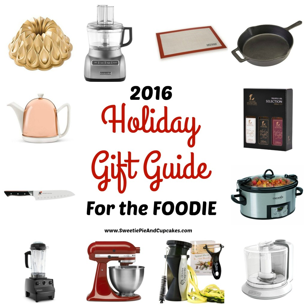 2016 Holiday Gift Guide for the Foodie