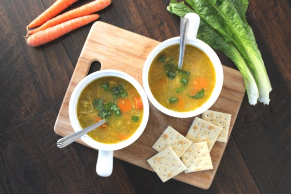 Easy CrockPot Chicken Soup