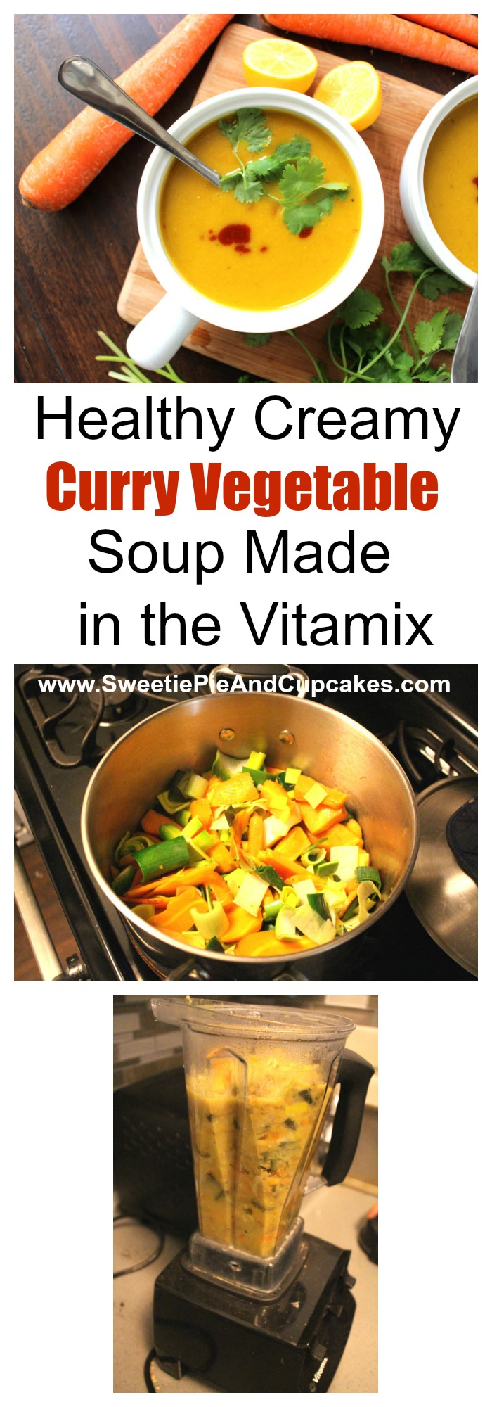 Creamy Curry Vegetable Soup