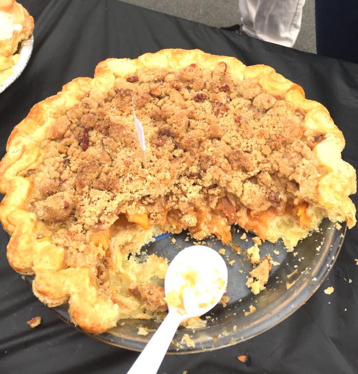 Peach Pecan Pie in Pie Contest
