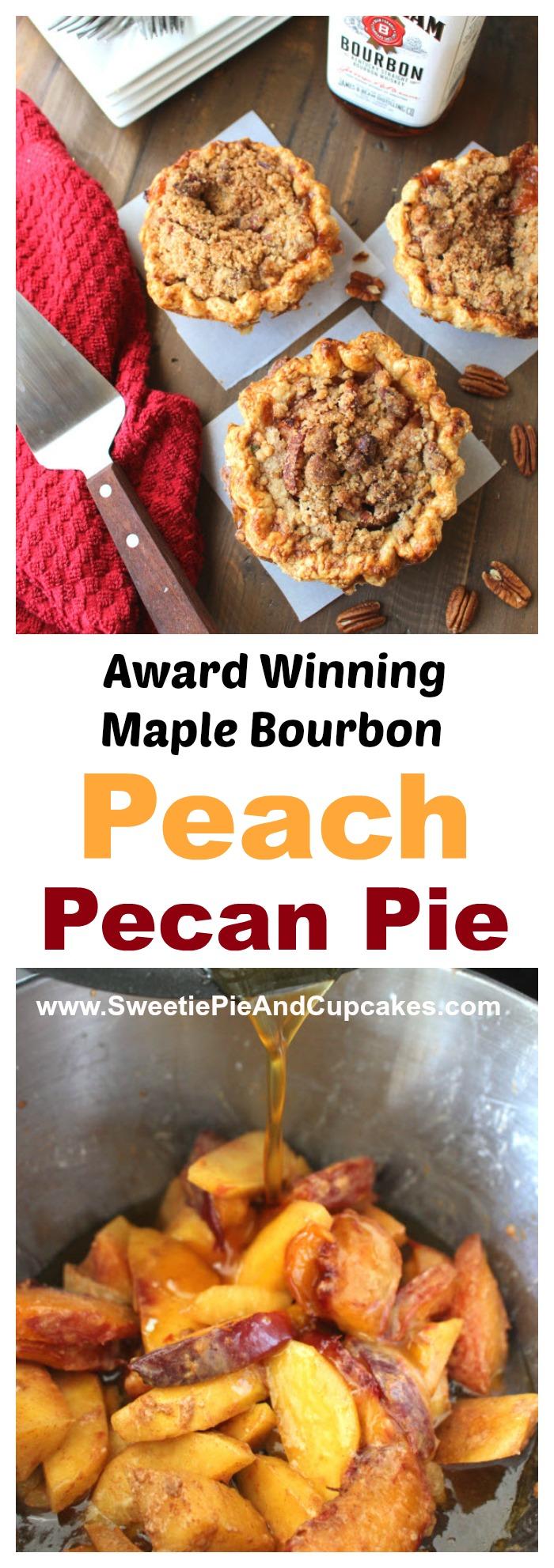 Peach Pecan Pie Pin