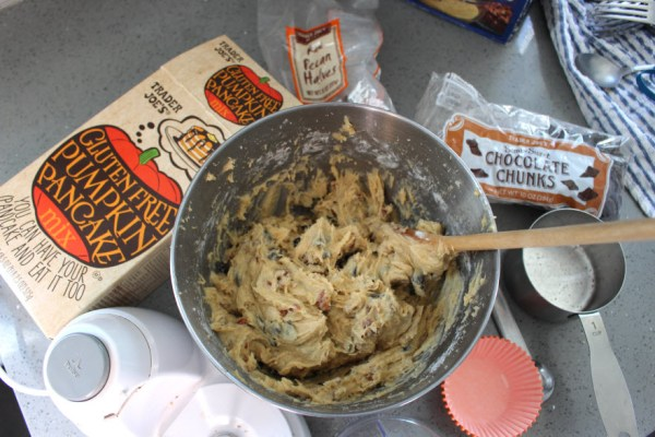 Pumpkin Muffins Batter