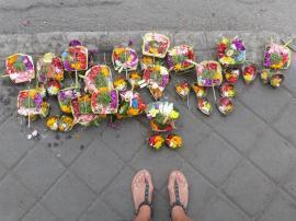 Offrande dans les rues de Jimbaran