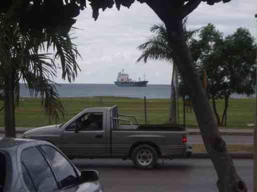 Vehicles on road Jamaica