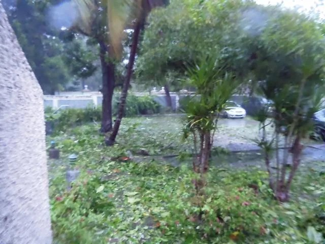 Early Evening Hurricane Sandy Jamaica
