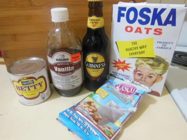 Guinness Punch Ingredients