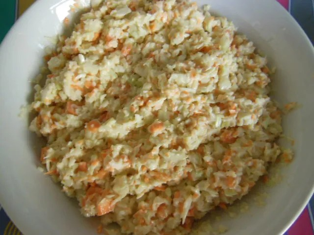 Jamaican Coleslaw Ready to Serve