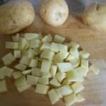 Jamaican Potato Salad Chop Potato