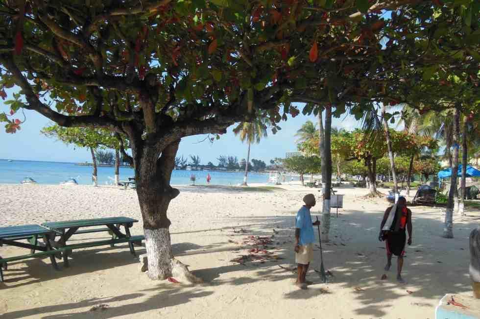 Hotels on Ocho Rios Bay Beach