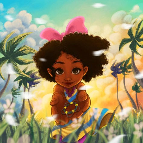 Anya goes to Jamaica souvenir