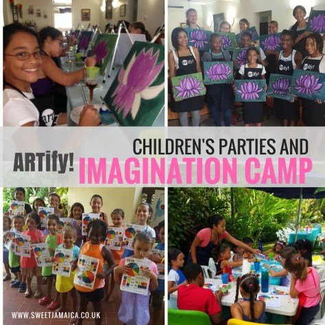 IMAGINATION CAMP Art Camp Jamaica