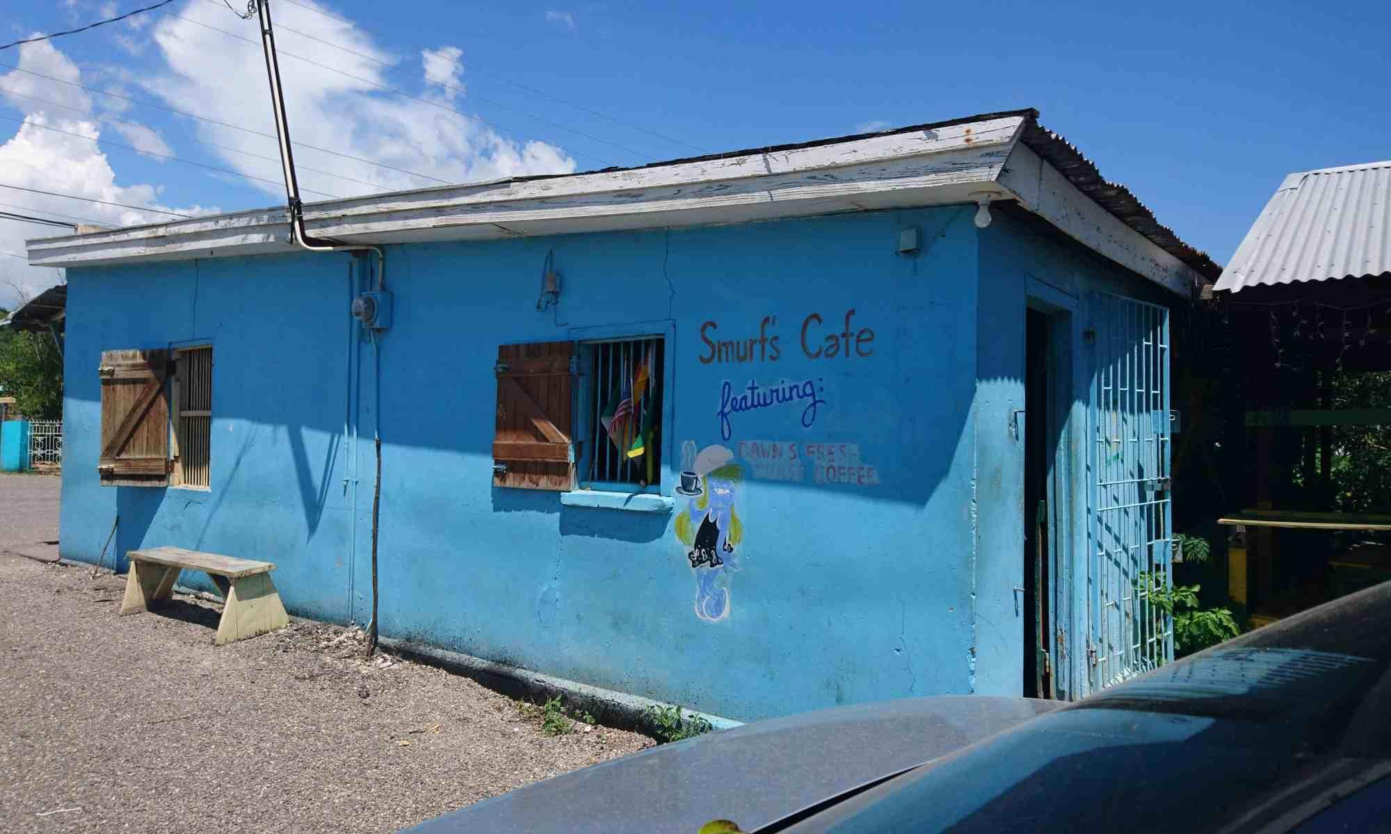 Smurfs Cafe Treasure Beach