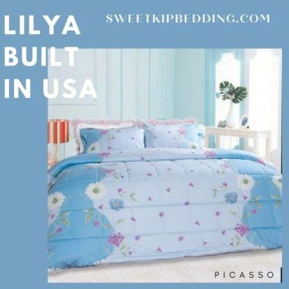 PICASSO ชุดเครื่องนอน ลาย Lilya รุ่น Built In USA
