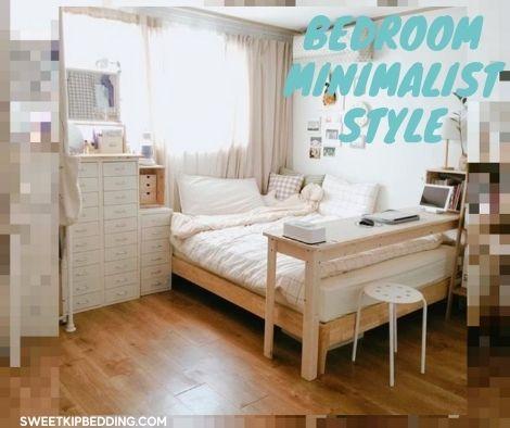 แต่งห้องนอนให้มินิมอลด้วยผ้านวมสีขาว