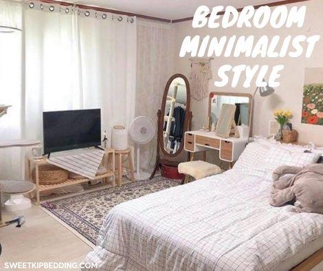 bedroom minimalist style