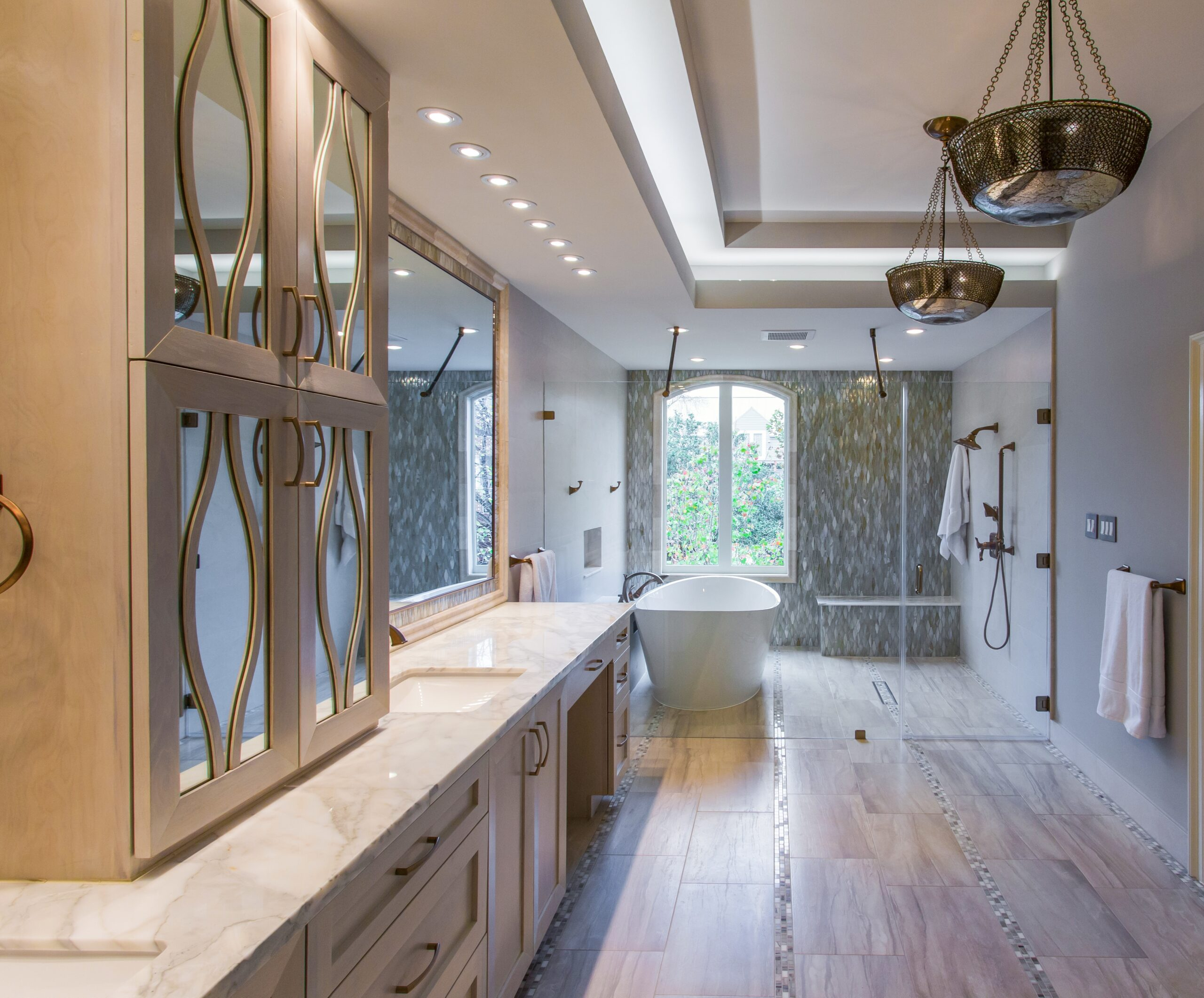 Houston Bathroom Remodeling River Oaks Houston Texas Tranquil Spa Master Bathroom Remodel
