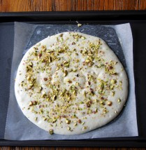 Top with chopped pistachios