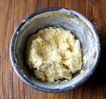 Fold in the flour