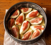 Place the figs over the dough