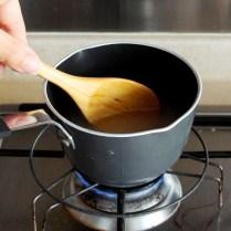 Stir over low heat