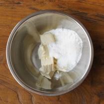 Cream cheese+icing sugar