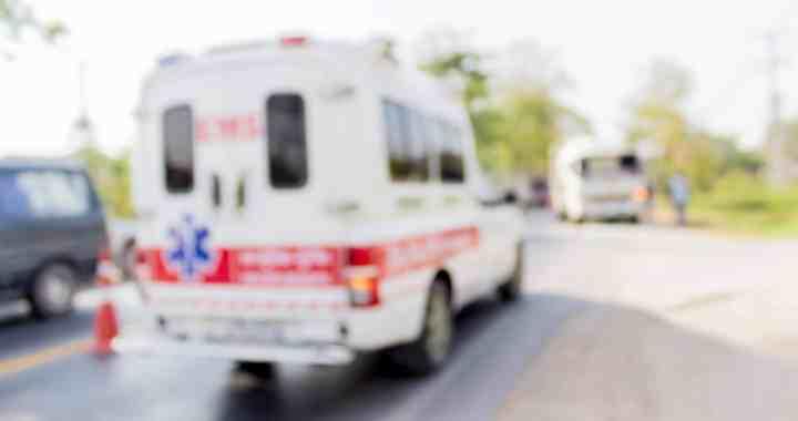 Ambulance Overturns after Hit-and-Run Crash on 91 Freeway [Anaheim, CA]
