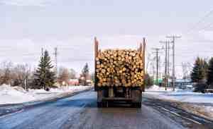 Driver Injured in Lumber Truck Crash on El Camino Real [Menlo Park, CA]