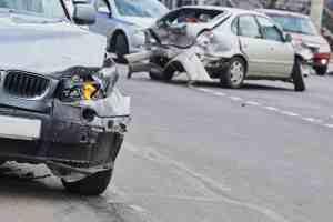 1 Injured in Multi-Vehicle Crash at Van Buren Boulevard and