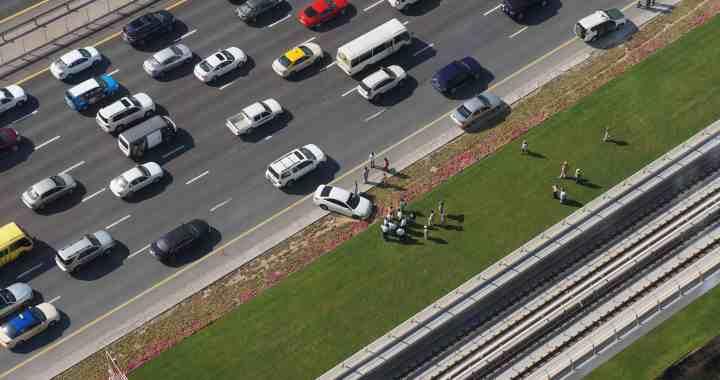 Lanes Closed after Multi-Car Crash on 10 Freeway [Covina, CA]