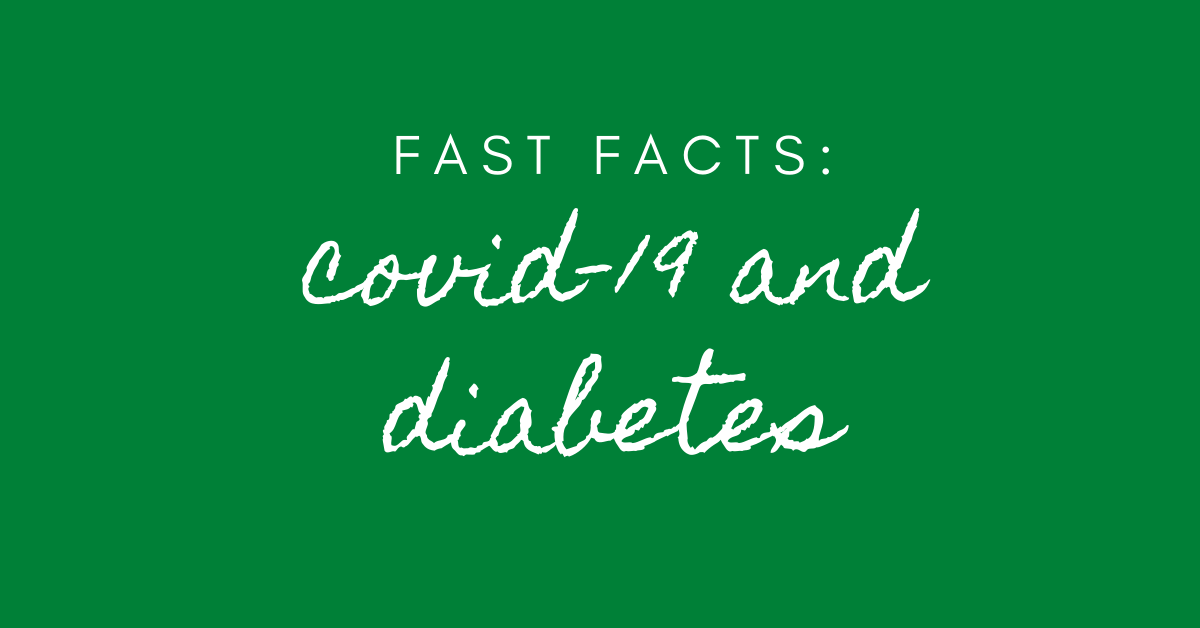 covid-19 and diabetes facts