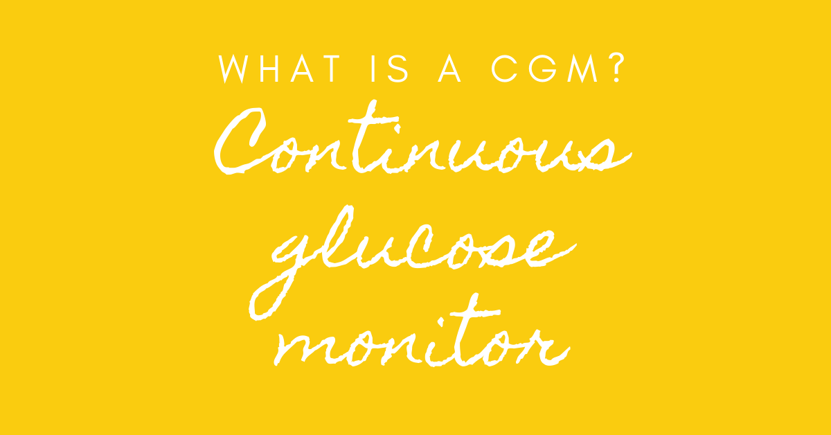 what is a cgm