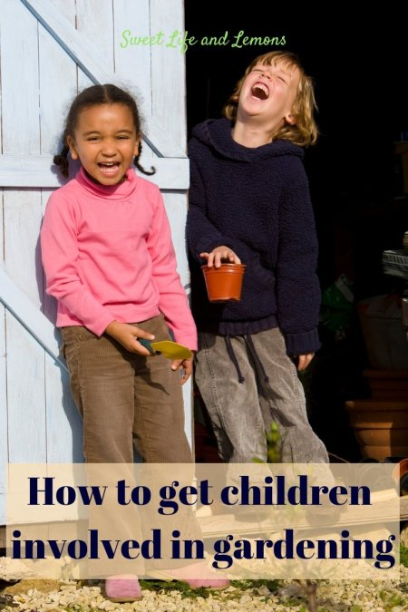 How to get children gardening