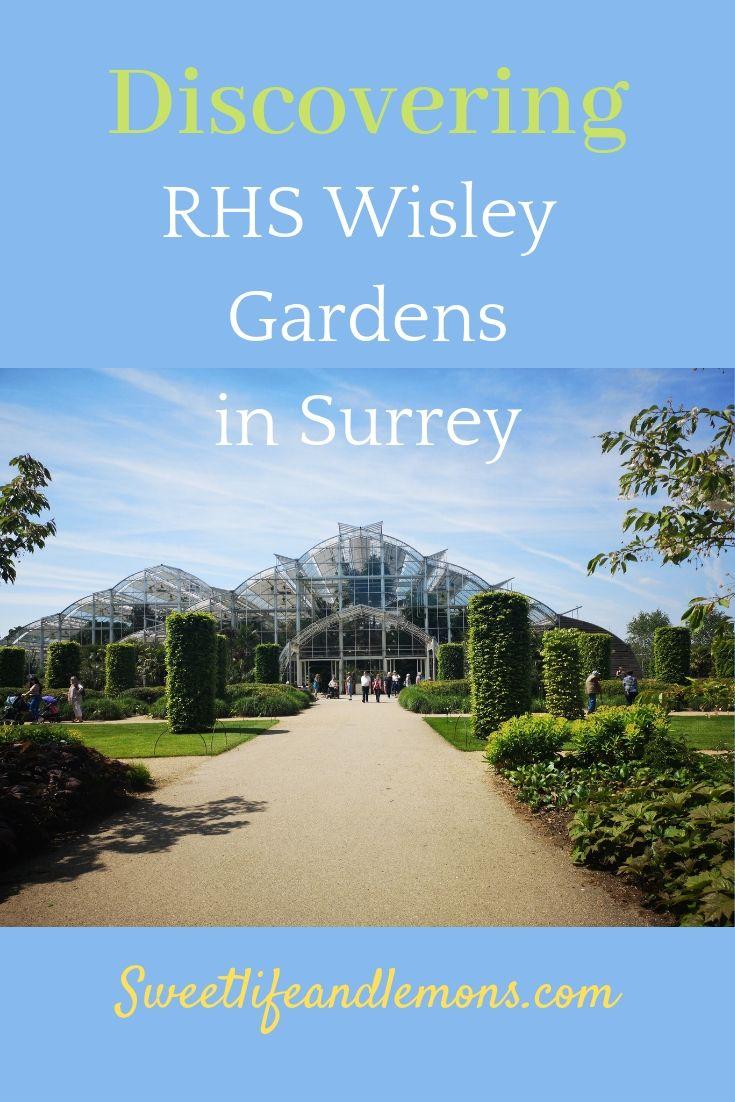 RHS Wisley in Surrey