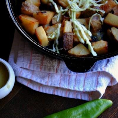 Hatch Chile Breakfast Potatoes