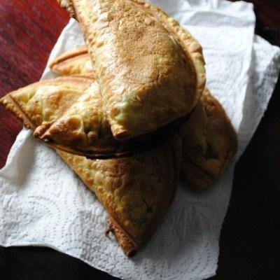 Empanadas de Dulce de Leche y Queso