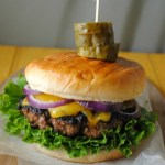 Poblano Cheddar Burger